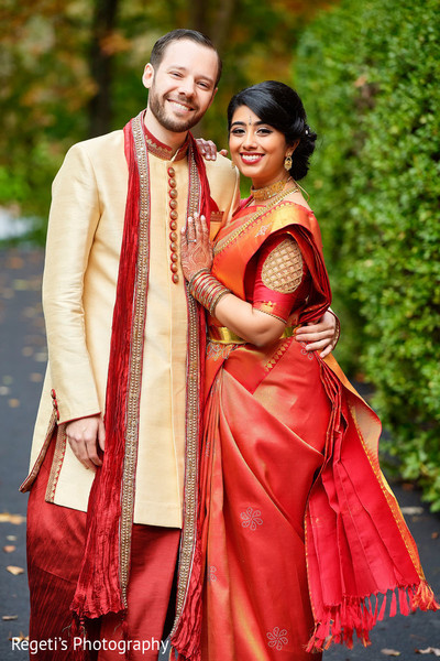 Beautiful photo of our Indian couple together.