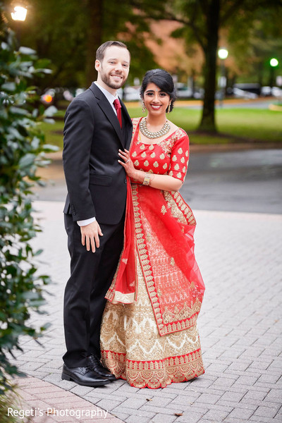 Take a look at the elegance of our Indian couple.