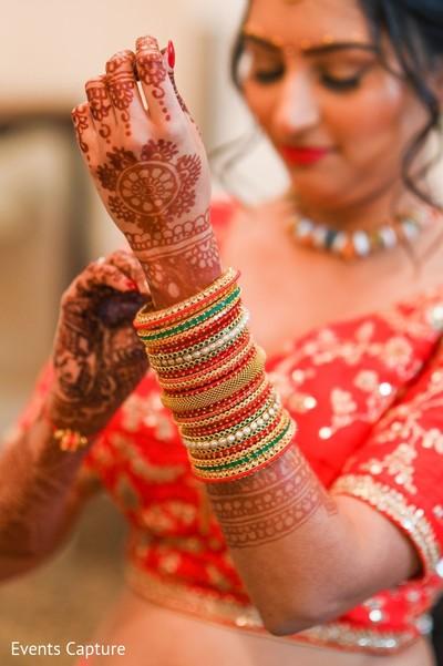 Maharani's ceremony bangles.