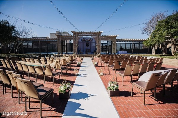 Amazing wedding set up.
