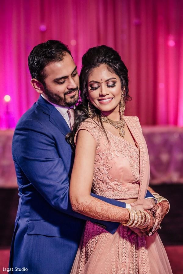 Enchanting Indian couple.