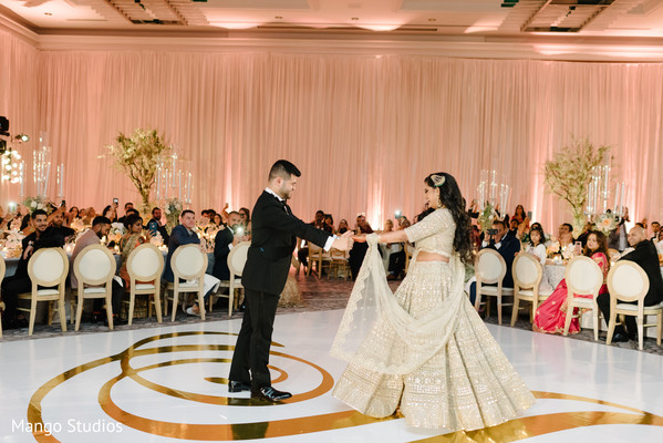 Indian newlywed's first dance