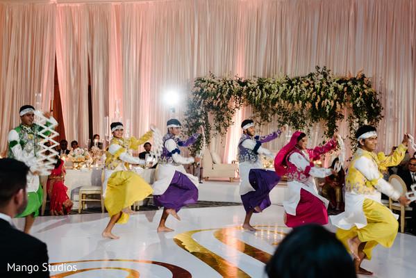 Indian wedding entertainment.