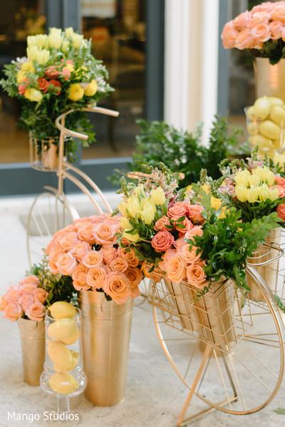 Sweet Indian wedding floral.
