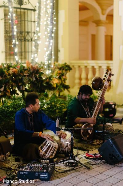 Mehndi party music performance.