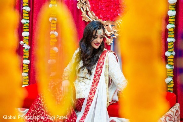 Indian bride looking stunning.