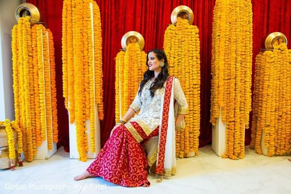 Maharani posing at the venue.