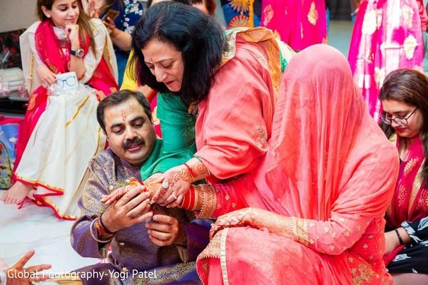 Maharani with family members.