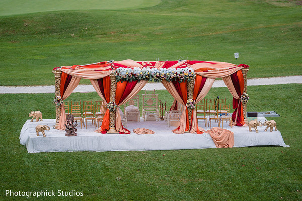 See this gorgeous mandap decor.