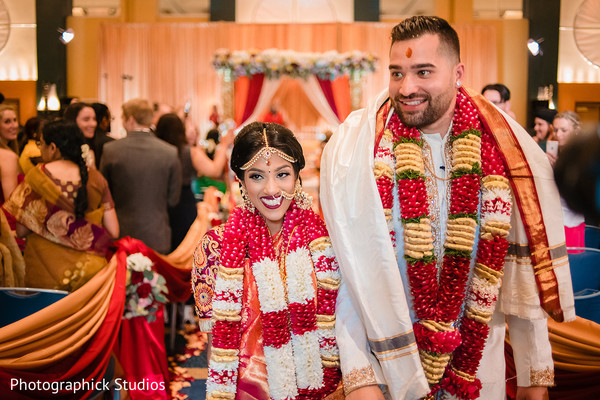 Take a look at our recently married Indian couple.