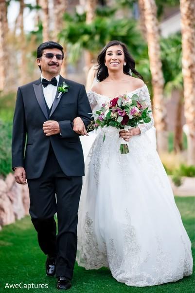 Joyful Indian Bride On Her Christian Wedding Dress Photo 245972