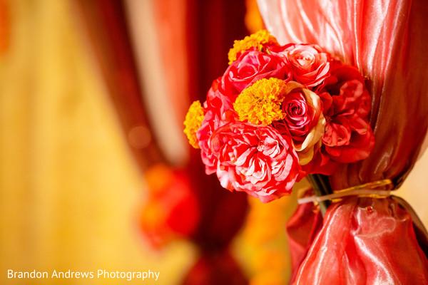 Marvelous Indian mandap flowers decor.