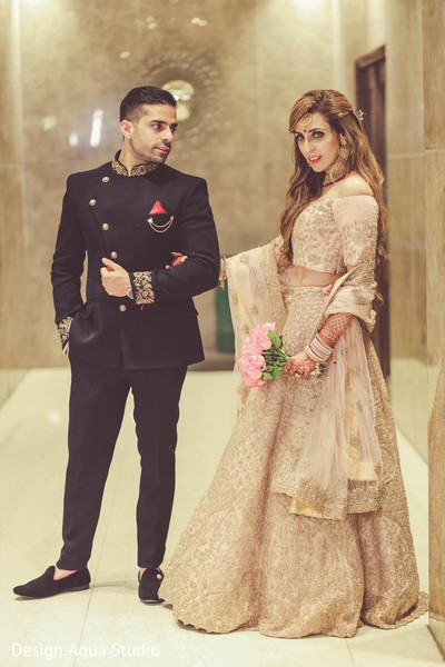 Take a look at this delightful photo shoot of our Indian couple.