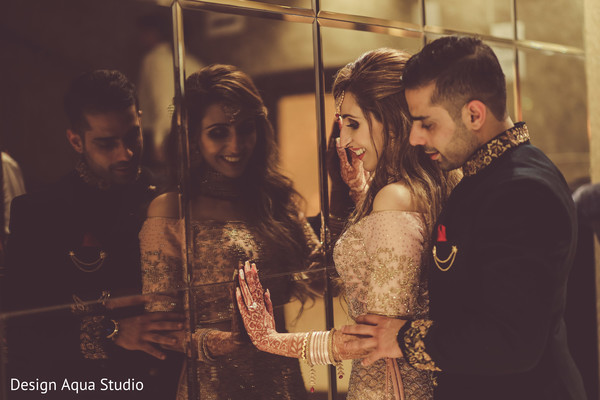 Candid photo shoot with our Indian couple.