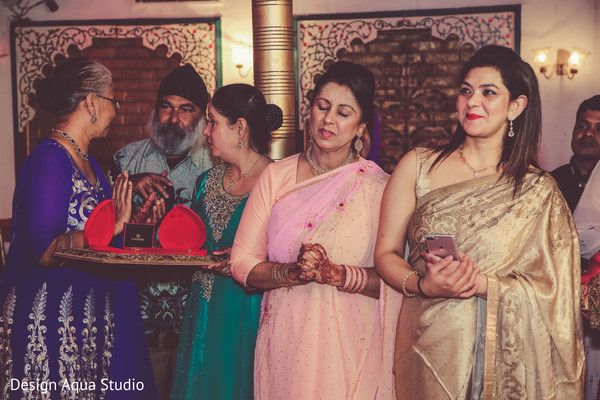 Here are some of the loved ones attending the Indian wedding.