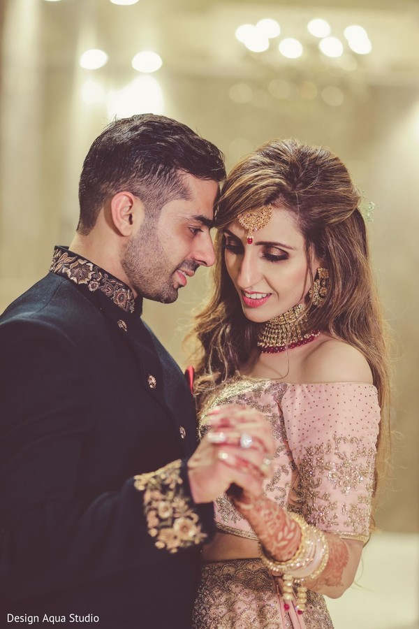 Take a look at our romantic Indian couple.
