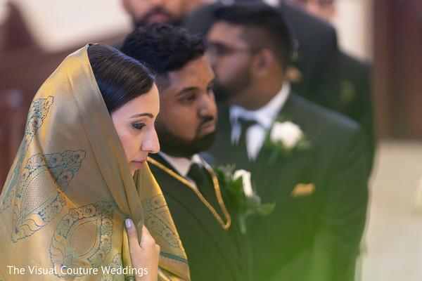 Maharani and Indian groom looking stunning.