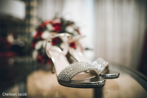 Elegant shinny shoes.