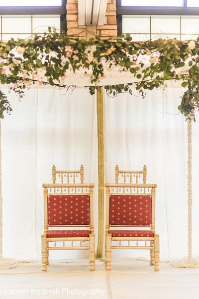 Incredible Indian wedding ceremony mandap decor.