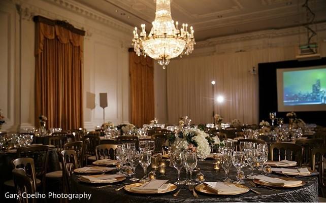 Details of the reception venue.