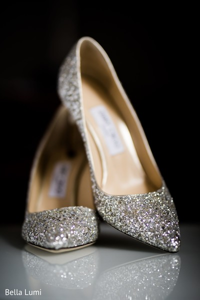 Details of Maharani's shoes.