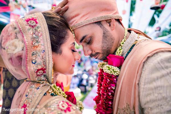 Raja and Maharani having a spiritual moment.