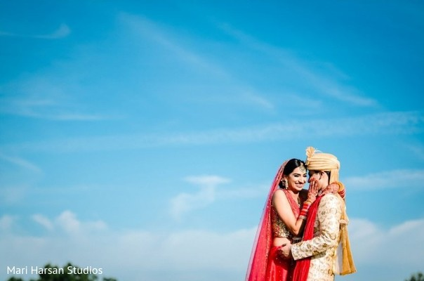 Adorable indian couple photography.