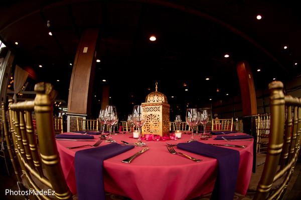 Stunnishing Sangeet table decoration.