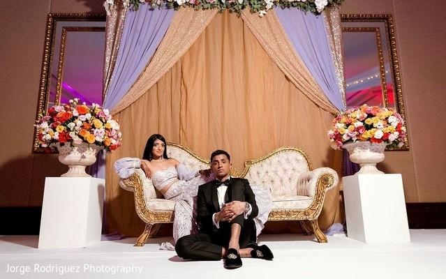 Majestic Indian couple's photo shoot.