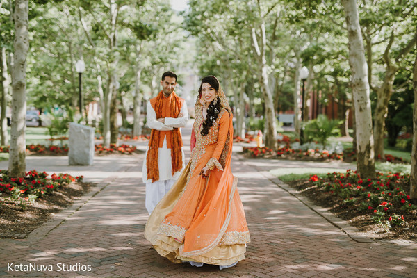 Our charming Indian couple looks amazing.