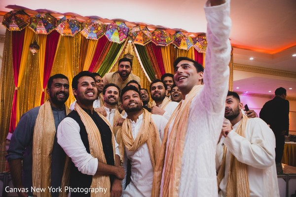 Incredible Indian groom and groomsmen captur.