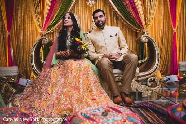 Magnificent  Sangeet photography.