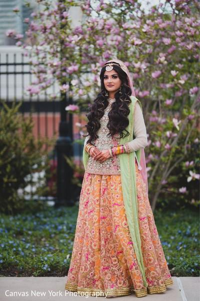 Incredible maharani's sangeet look.