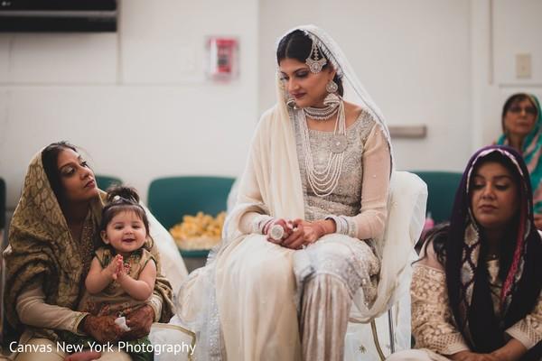Indian bride at her ceremony capture.