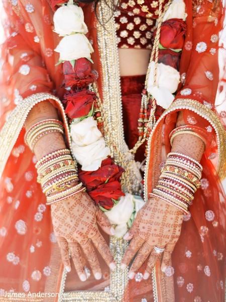 Incredible Indian bridal henna art.