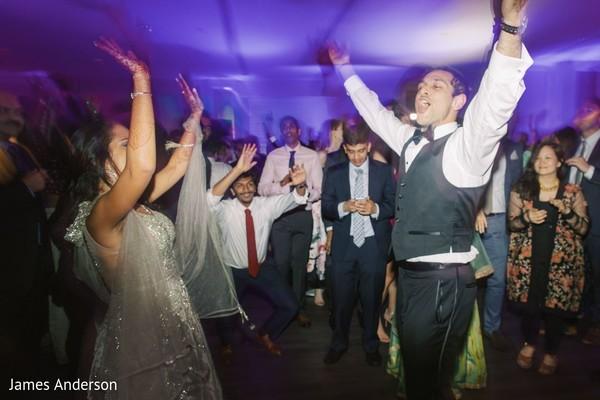 Fabulous indian wedding reception dance.