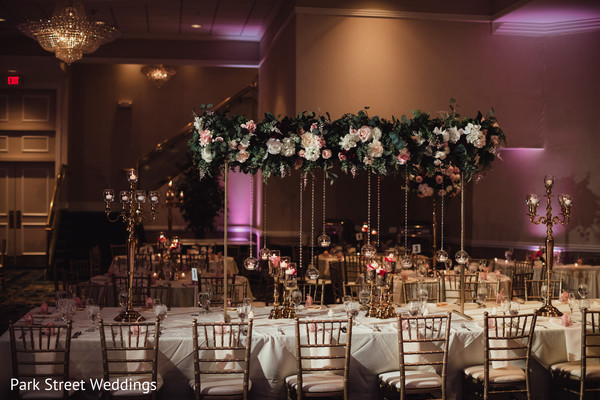 Table decor details.