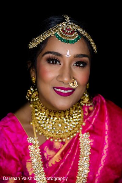 Incredible maharani's ceremony makeup and jewelry.