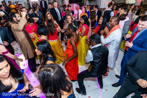 Upbeat Indian wedding dance.