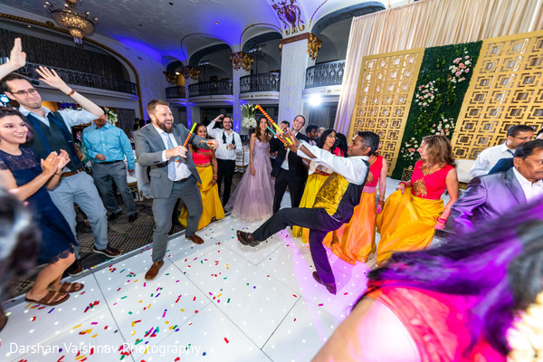 Incredible Indian pre-wedding dance.