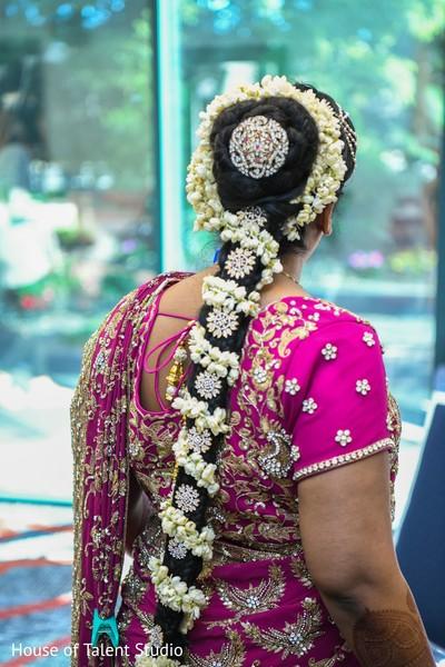 Indian bride's gorgeous attire.