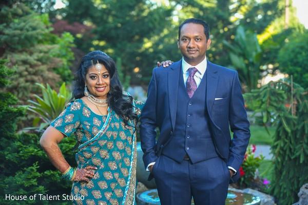 Maharani and Raja looking gorgeous.