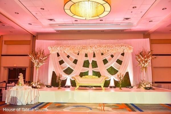 Indian wedding venue decor.
