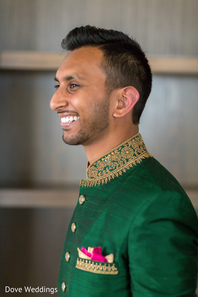 Take a look at our Smiling Indian groom.