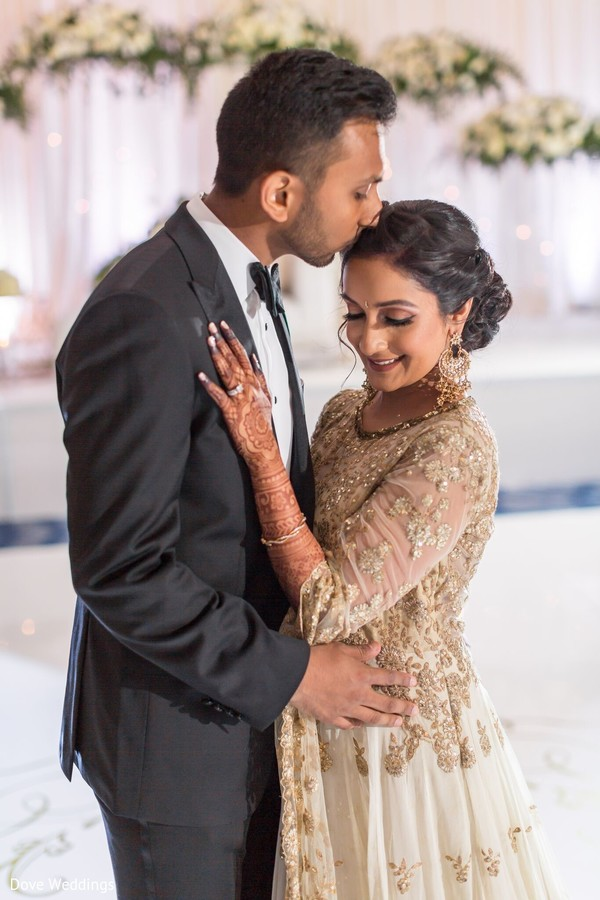 Our Indian couple is so in love.