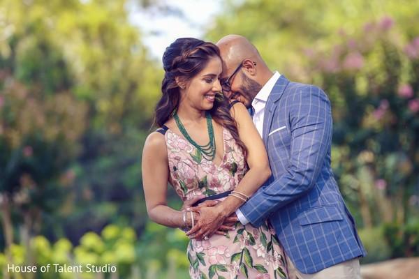 Ravishing Indian couple's photo session.