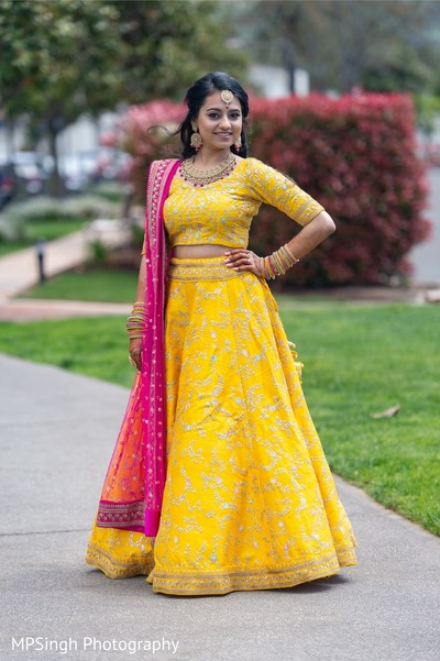 Indian bride looking gorgeous.