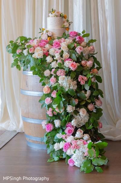Floral arrangement decor.