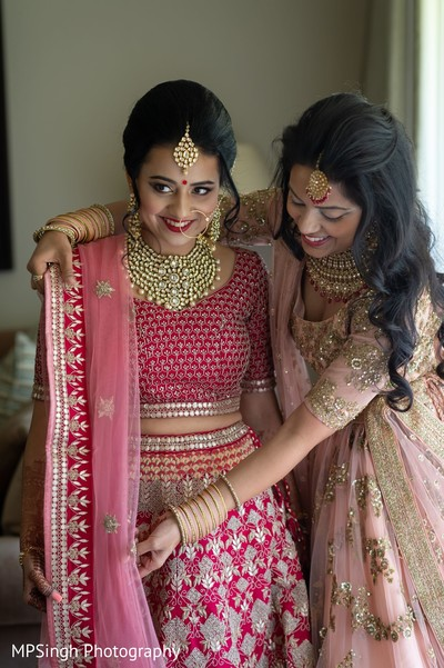 Indian bride and special guest.