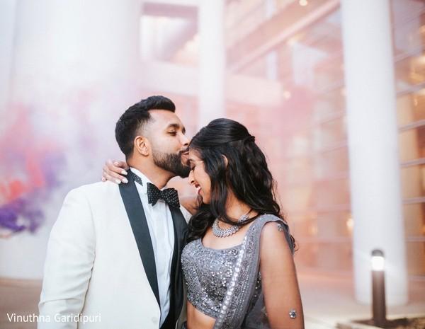 Romantic Indian couple photo shoot.